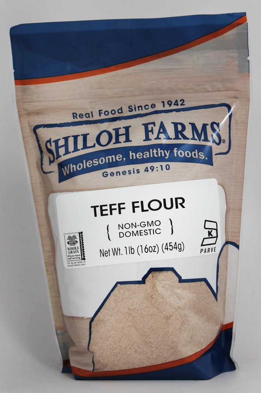 Teff Flour Domestic Non Gmo Shiloh Farms