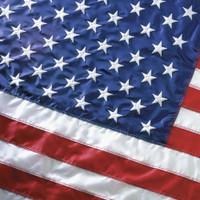 2'x3' Nylon U.S. Flag    (200 Denier Solar Max Nylon)