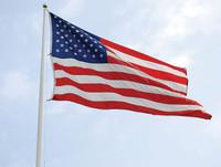 2 1/2'x4' Nylon U.S. Flag    (200 Denier Solar Max Nylon)