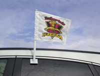 11x15 Inch Printed Nylon Custom Car Flag