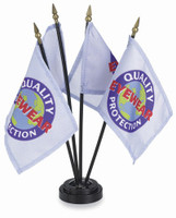 Custom Printed Stick Flags