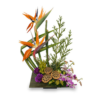PARADISE GARDEN Floral Arrangement