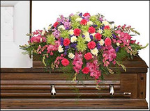Eternal Beauty Casket Spray