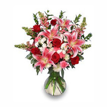 VD16 PERFECT LOVE BOUQUET  Fresh Flowers