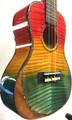 Smiger UK-ARS-15-24-CL Premium Colorful Rainbow Concert Ukulele