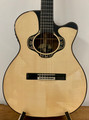 Merida Overstep solid spruce & ovangkol acoustic-electric OM Classical Guitar 2020