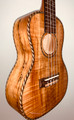 R.Empire 'The Spalted Bird' Concert Ukulele - spalted maple