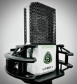 Lewitt LCT240-PRO-MAX-WH/BL Large Diaphragm Studio Condenser Microphone with Shock mount- White/Black