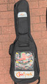 SunSpark electric guitar  case - green striped
