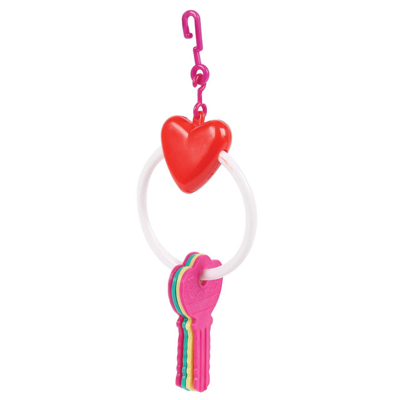 Small Toy Parrots : Buy key ring toy for small parrots