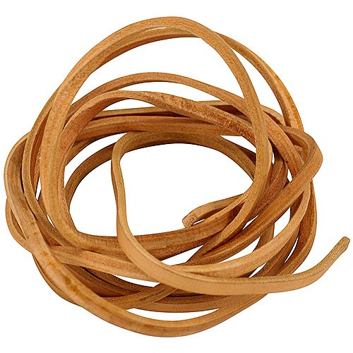 Leather Rope Strip - length 3m x 6mm width