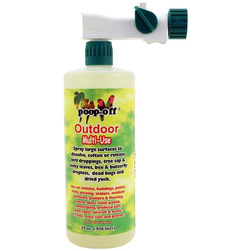 Poop-Off Outdoor Multi-Use Clean-Up Liquid 32oz