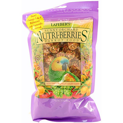 Lafeber Nutri-Berries Sunny Orchard Complete Parrot Food 284g