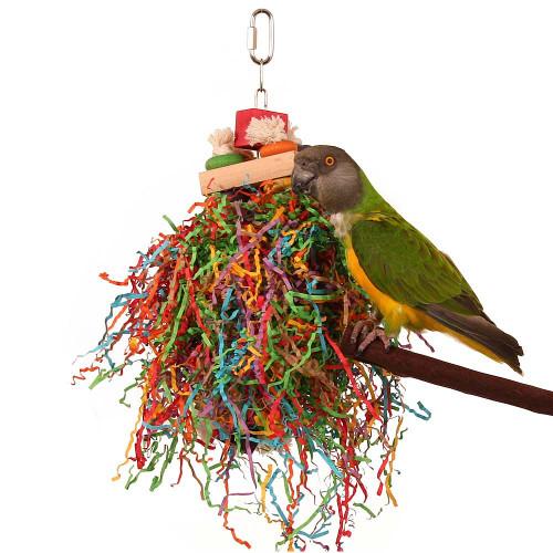 Shredding Stack Parrot Toy