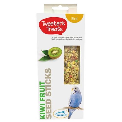 Tweeter's Treats Seed Sticks for Budgies - Kiwi