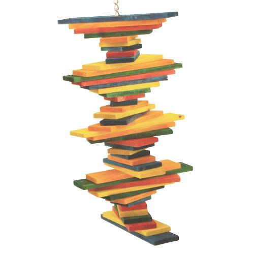 Pharaon Tower Twist Parrot Toy - Medium