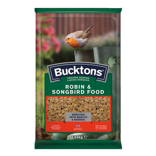 Bucktons Robin & Songbird Food 12.55Kg