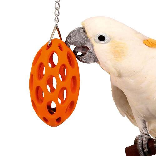 Nutcase - Bird Safe Rubber Foraging Toy for Parrots