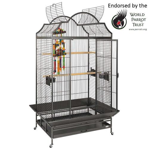 Enterprise Parrot Cage - Antique
