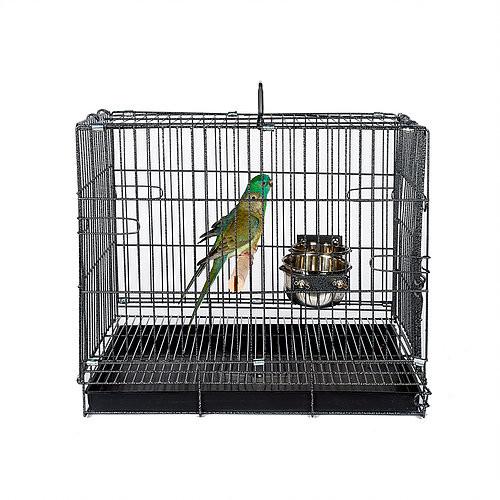 Parrot and Bird Travel Cage Medium