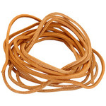 Leather Rope Strip - length 3m x 3mm width