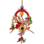 Ring of Fun Hanging Parrot Toy