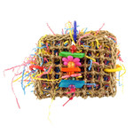 Mini Foraging Pouch Parrot Toy