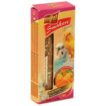 Vitapol Budgie Treat Sticks Twinpack - Orange