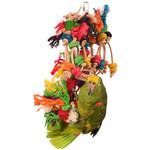 Sisal Invader Hanging Parrot Toy