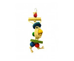Natural Loofah Bird Toy Small