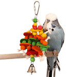 Abacus Wood & Rope Parrot Toy
