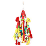 Rope N Tumble Wood & Rope Parrot Toy