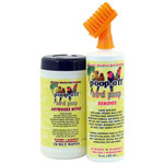 Poop-Off Brush & Wipes Cleaning Spray