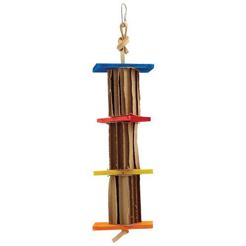 Shredding Blocks Honeycomb Cardboard Parrot Toy - Small