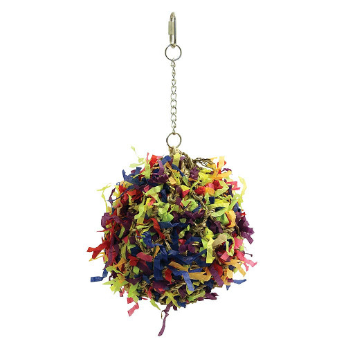 Shreddable Foraging Ball Parrot Toy - Large