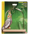 Bird Swing With Wooden Perch