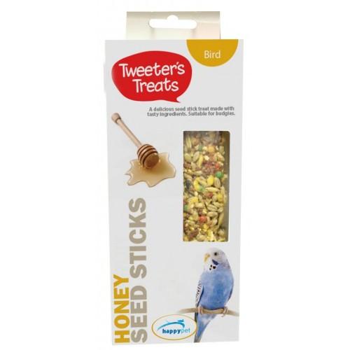 Tweeter's Treats Seed Sticks for Budgies - Honey