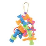 Nothing But Nuts & Bolts Parrot Toy