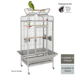 Voyager Parrot Cage in Stone