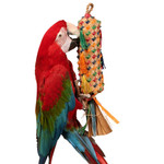 Coloured Pinata Spiked - Large Parrot Toy