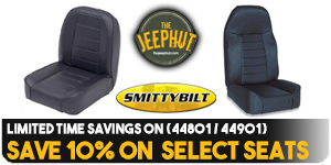 Save 10% on Select Smittybilt Seats