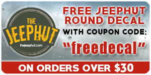 Free Round JeepHut Decal!