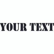 Decal, DEC-CUSTOM - Your Text Custom Hood Decals (Set of Two)