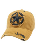 Jeep Clothing, 114JF - Jeep 3D Star Cap