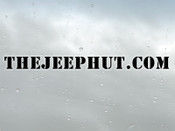 The JeepHut, JH-WINDSHIELD - JeepHut.com Logo Windshield Decal