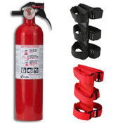 Kidde, FA110 Multi Purpose Fire Extinguisher Plus Sport Bar Fire Extinguisher Holder