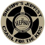 Sheriff's Jeepfest JeepHut Edition 2016 Decal