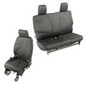 Rugged Ridge, 13256.01 - Elite Ballistic Seat Cover Set, 2 Door; 07-10 Jeep Wrangler JK