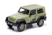 GREENLIGHT 1:43 2012 JEEP WRANGLER - U.S. ARMY