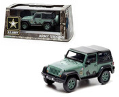 GREENLIGHT 1:43 2012 JEEP WRANGLER - U.S. ARMY DG